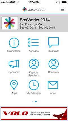BoxWorks iPhone App