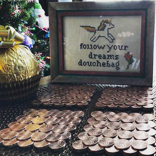 Follow Your Dreams Douchebag